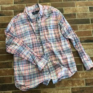 Vineyard Vines mens classic tucker fit shirt L
